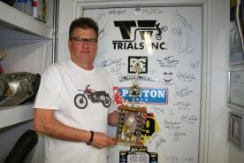 Bob w first trophy