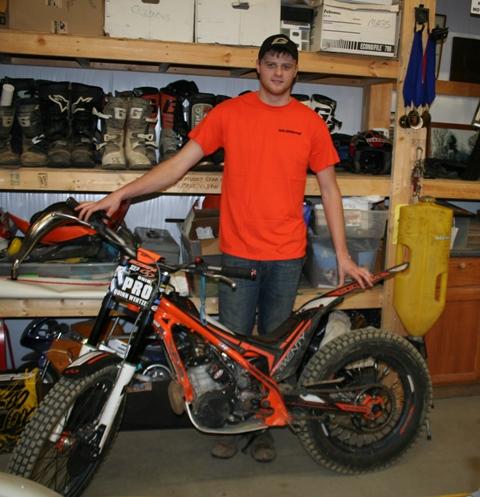 Quinn w Trials bike - small